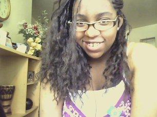 My hair in braids